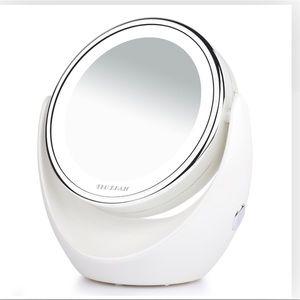 TEC.BEAN Makeup Mirror 1x/7x Magnification LED Nwt